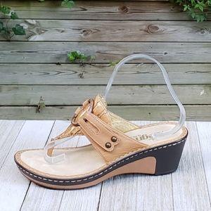 Alegria LOL 418 Lola Platform Sandals Wedge Thong